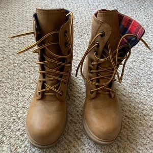 Union bay lace up boots